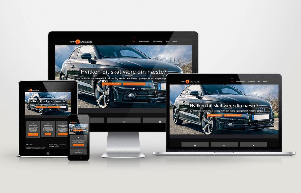 Billig og responsive Wordpress hjemmeside